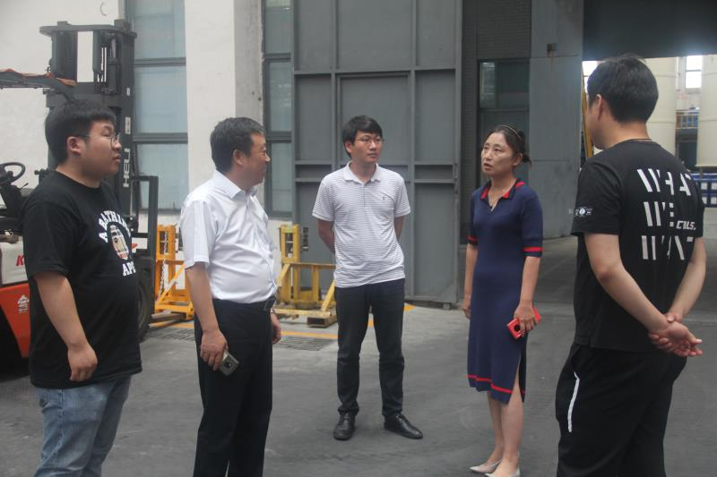 天津消防研究所检测中心专家莅临锁龙消防指导