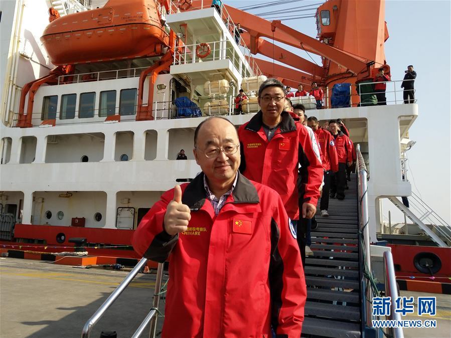 """""""雪龙""""归航 中国第35次南极考察取得多项成果"""